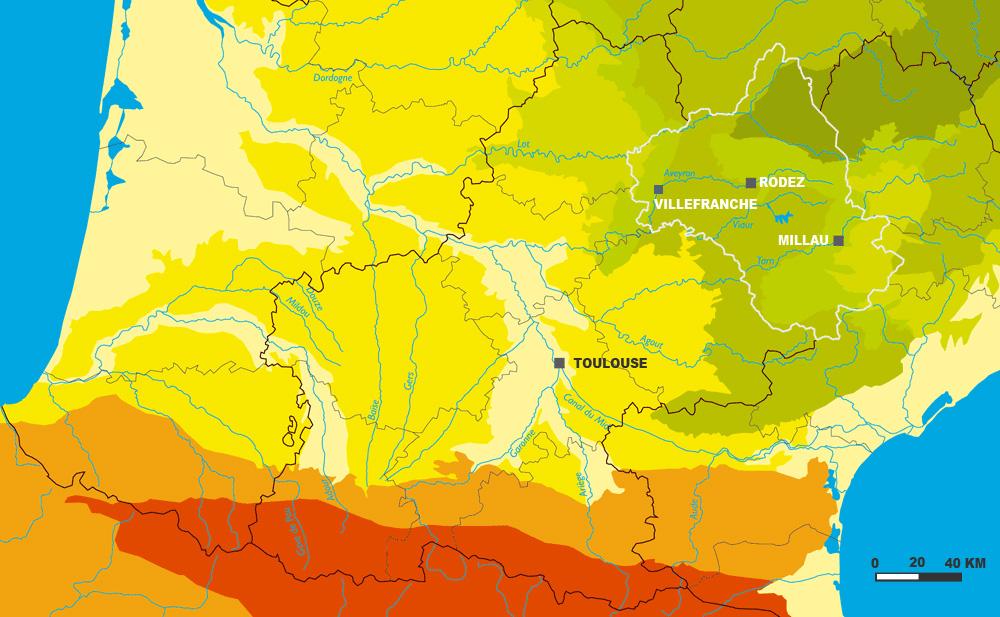 Paysages de Midi Pyrénées