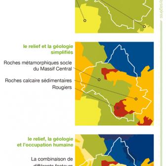 decoupage des entités paysagères de l'Aveyron