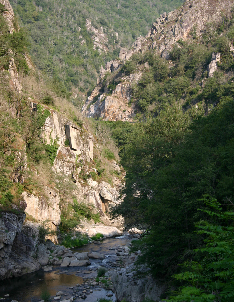Les gorges du Lot