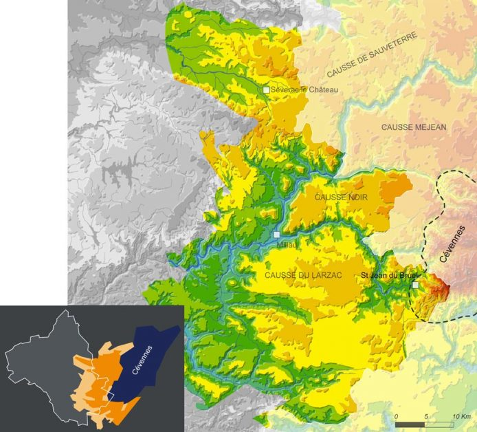 carte-cevennes-aveyron-grands-causses