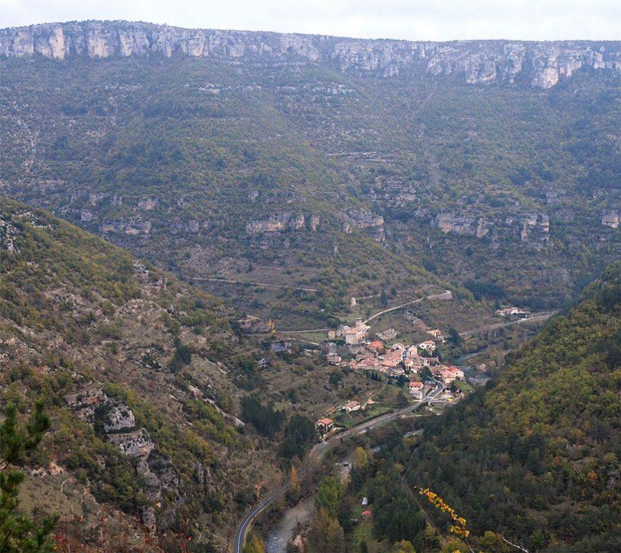 La Roque Sainte Margueritte - Gorges de la Dourbie