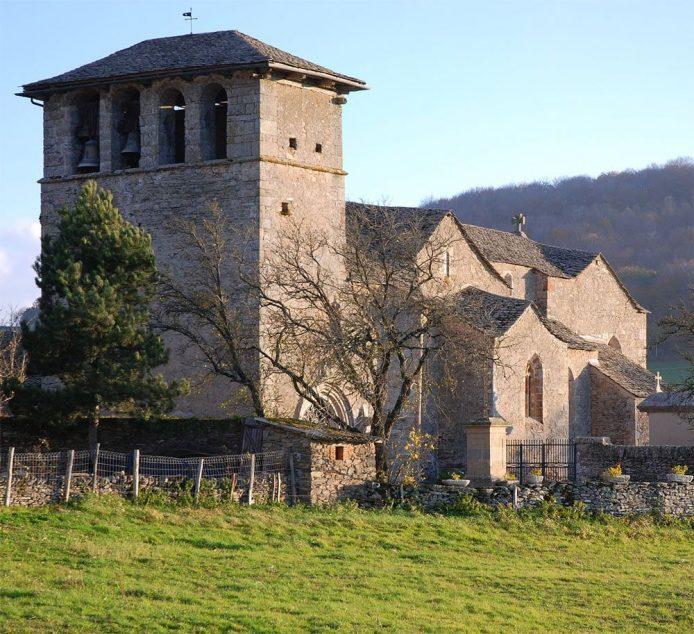 Eglise romane - St Martin de Cormières