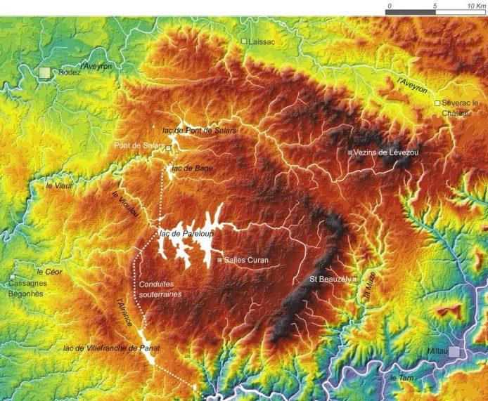 hydrographie-levezou-carte