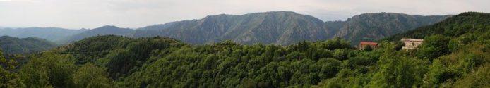 Isolement des monts de Lacaune : un relief montagnard