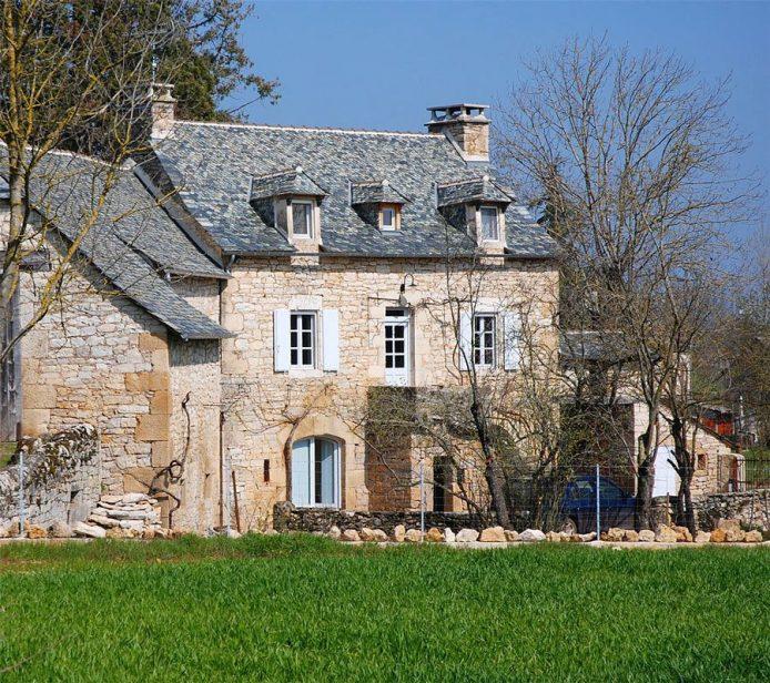 Rénauvation exemplaire d'une maison du Causse Comtal